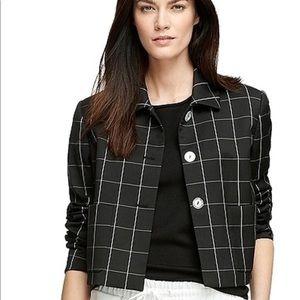 Brooks Brothers windowpane Skirt & Jacket Suit